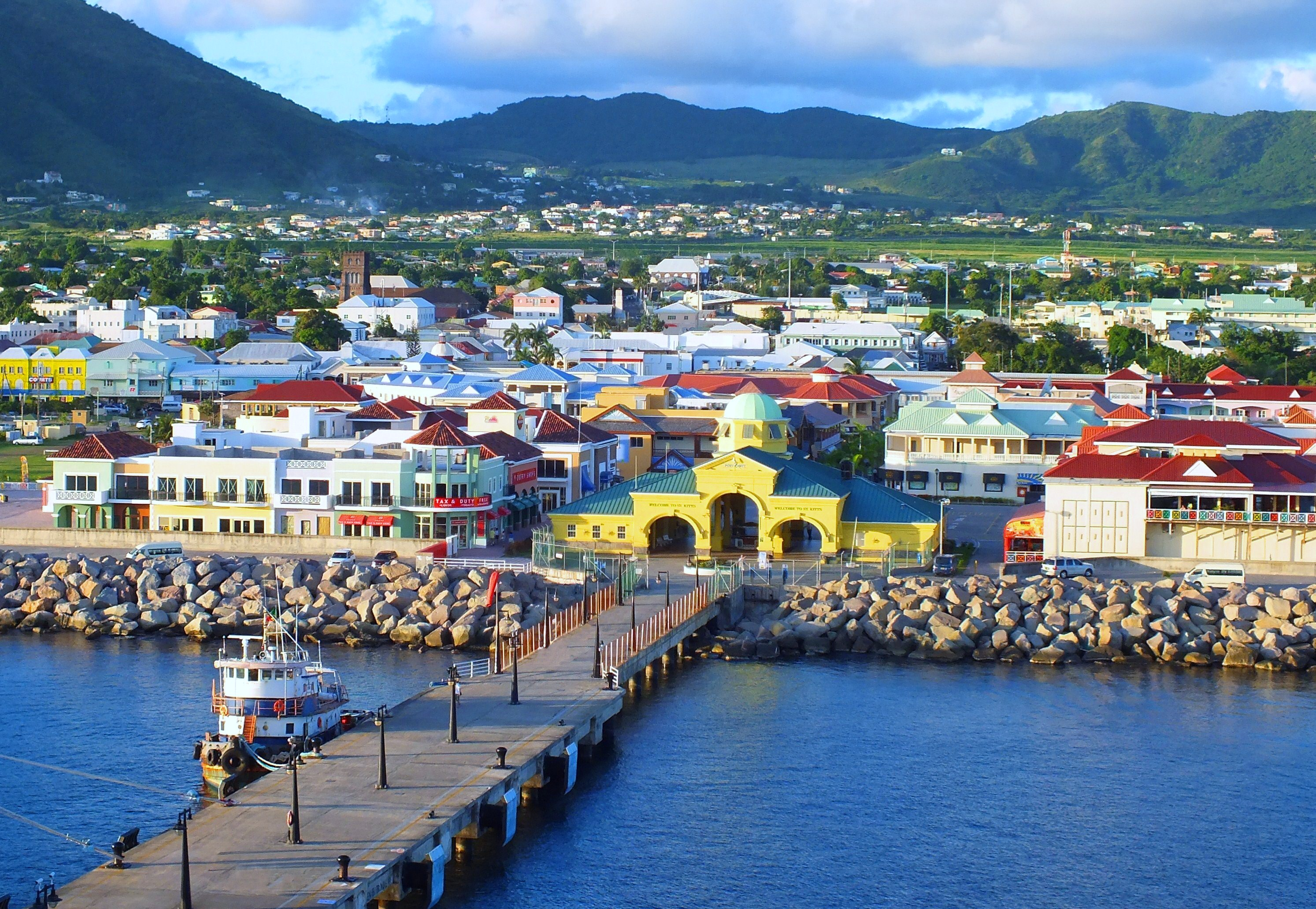 Welcome to st kitts nevis places of interest for Port zante st kitts