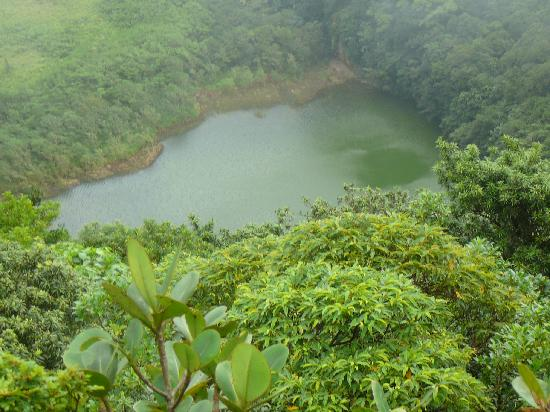 Crater Lake, Mount Liamuiga